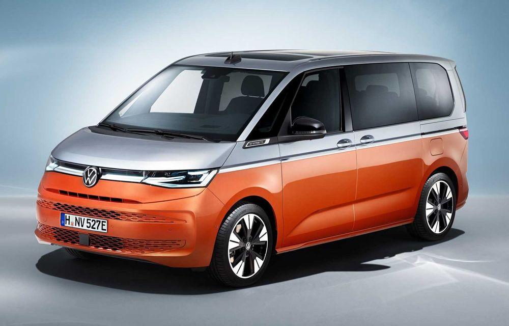 Noua generație Volkswagen Multivan debutează oficial cu versiune plug-in hybrid - Poza 1