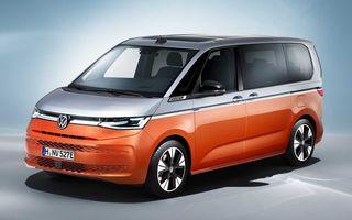 Noua generație Volkswagen Multivan debutează oficial cu versiune plug-in hybrid