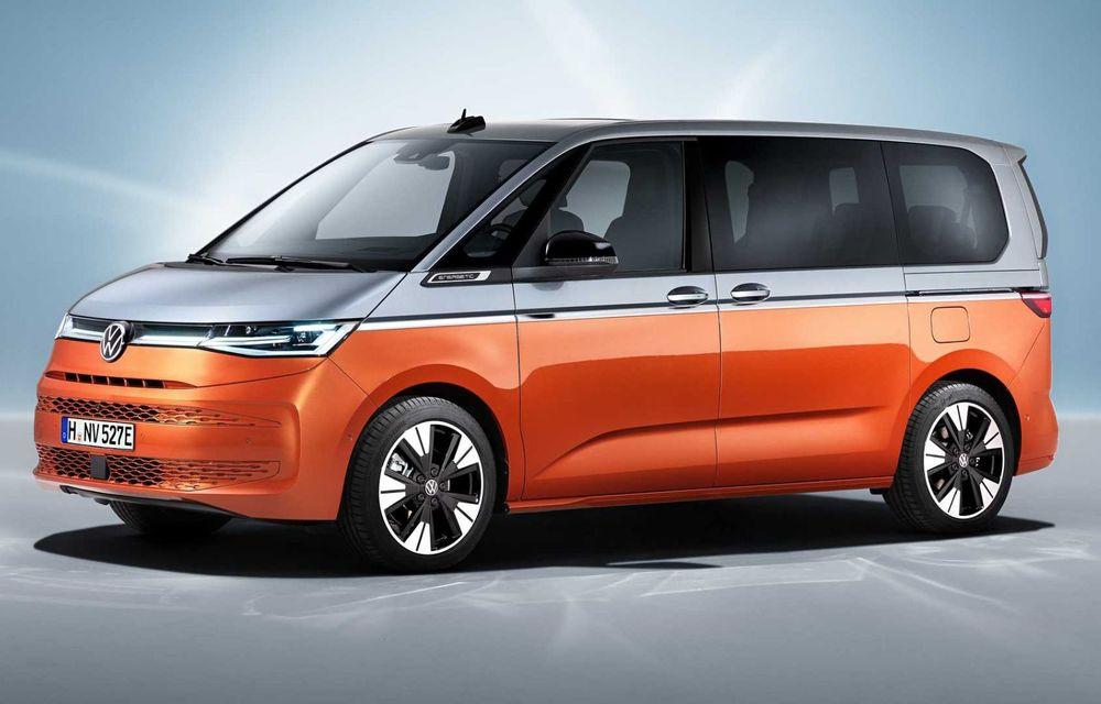 Noua generație Volkswagen Multivan debutează oficial cu versiune plug-in hybrid - Poza 2