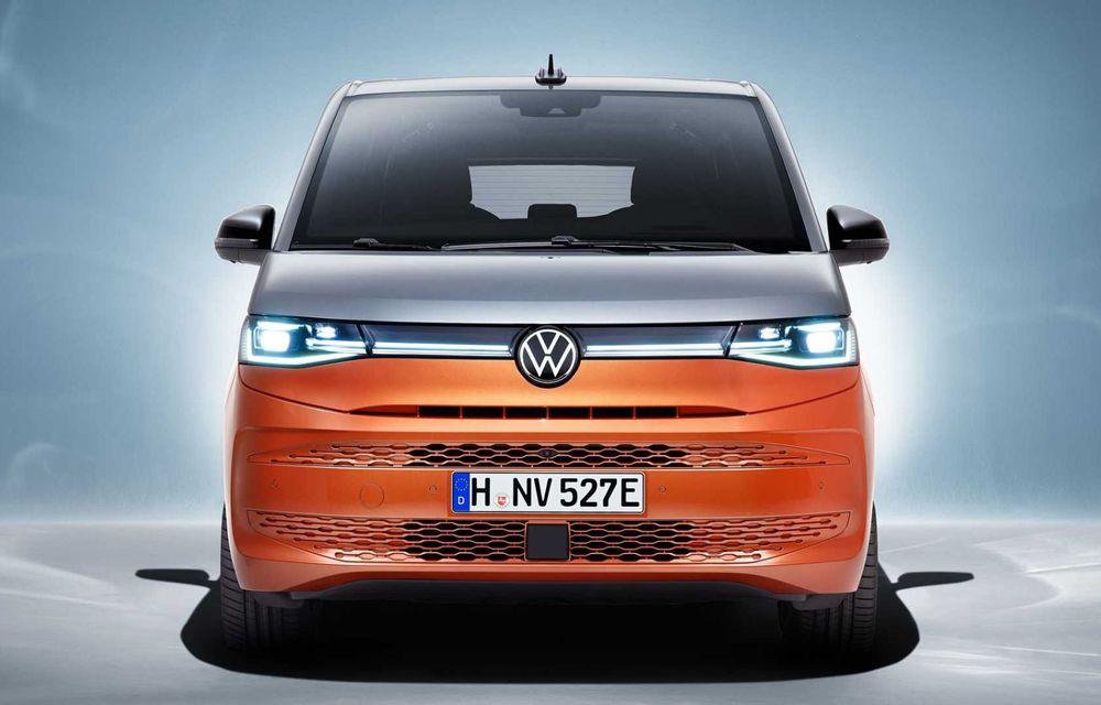 Noua generație Volkswagen Multivan debutează oficial cu versiune plug-in hybrid - Poza 3