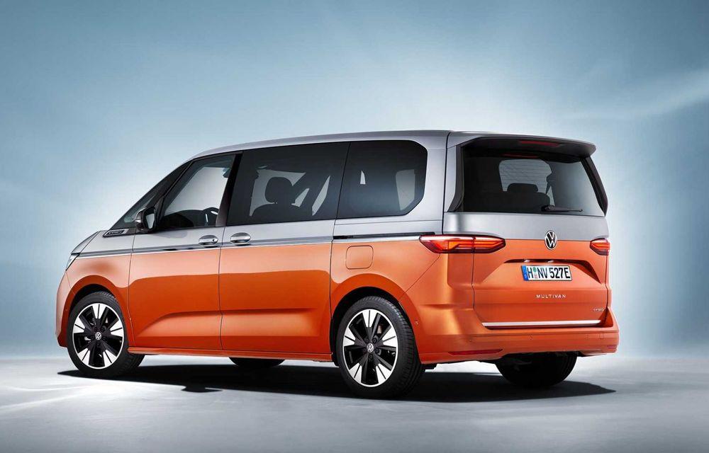 Noua generație Volkswagen Multivan debutează oficial cu versiune plug-in hybrid - Poza 5