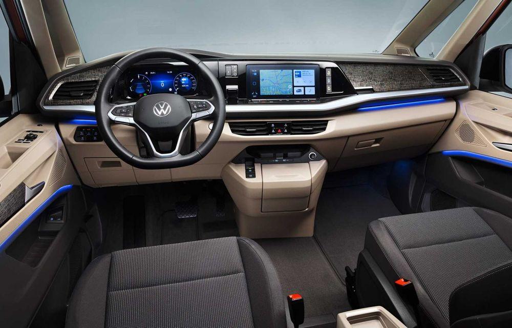 Noua generație Volkswagen Multivan debutează oficial cu versiune plug-in hybrid - Poza 10