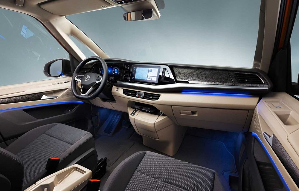 Noua generație Volkswagen Multivan debutează oficial cu versiune plug-in hybrid - Poza 11
