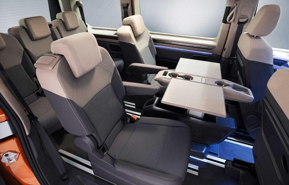 Noua generație Volkswagen Multivan debutează oficial cu versiune plug-in hybrid - Poza 13