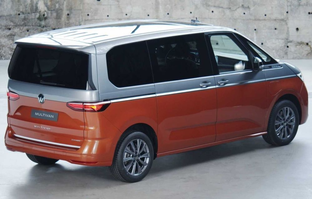 Noua generație Volkswagen Multivan debutează oficial cu versiune plug-in hybrid - Poza 8