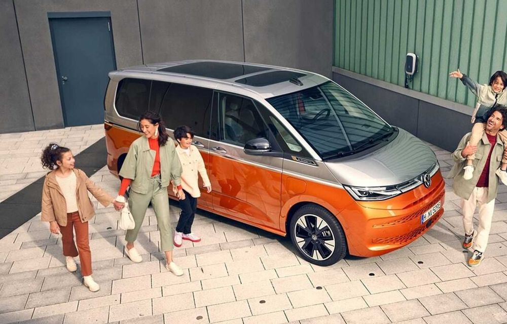 Noua generație Volkswagen Multivan debutează oficial cu versiune plug-in hybrid - Poza 6