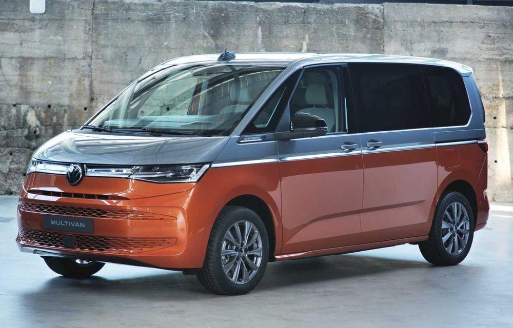 Noua generație Volkswagen Multivan debutează oficial cu versiune plug-in hybrid - Poza 7