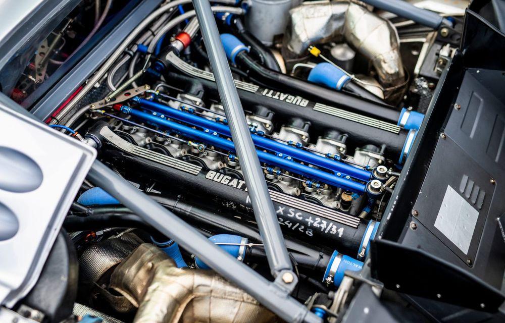 Unicul Bugatti EB 110 Sport Competizione s-a întors pe circuitul pe care a concurat ultima dată, în urmă cu 25 de ani - Poza 6
