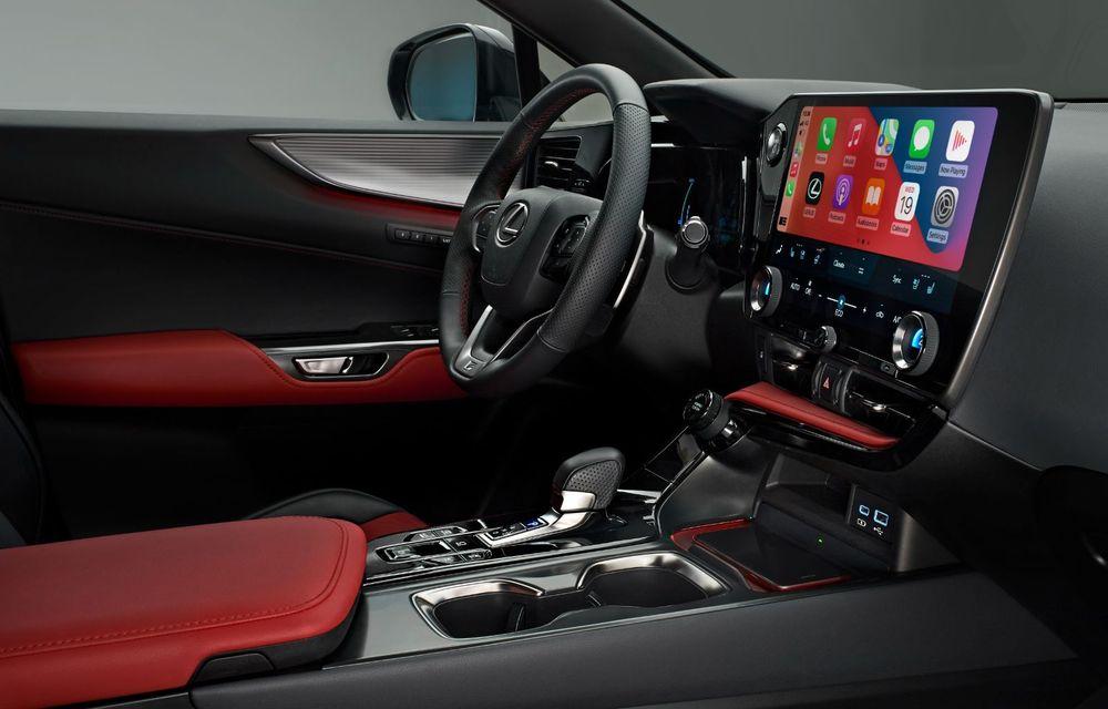 Noul Lexus NX: platformă nouă și versiune plug-in hibrid, o premieră pentru marca niponă - Poza 29