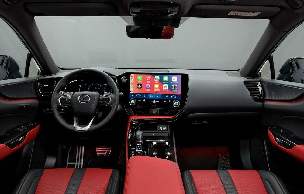 Noul Lexus NX: platformă nouă și versiune plug-in hibrid, o premieră pentru marca niponă - Poza 25