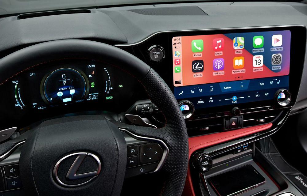 Noul Lexus NX: platformă nouă și versiune plug-in hibrid, o premieră pentru marca niponă - Poza 28