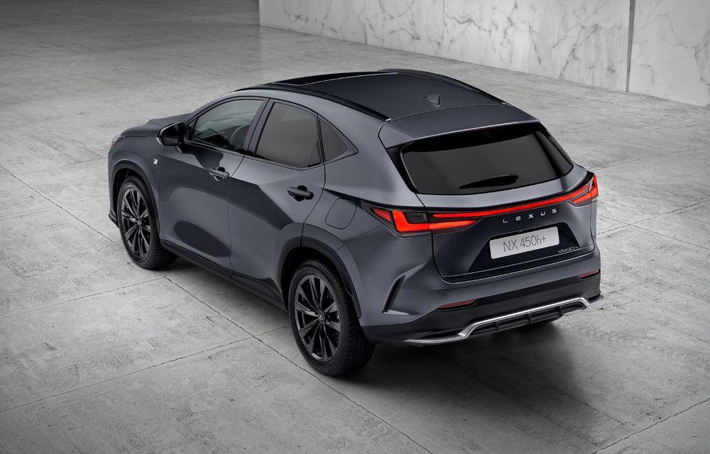 Noul Lexus NX: platformă nouă și versiune plug-in hibrid, o premieră pentru marca niponă - Poza 13