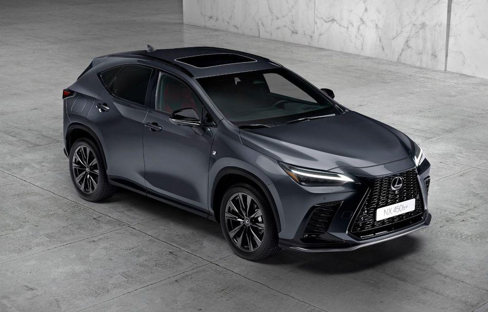 Noul Lexus NX: platformă nouă și versiune plug-in hibrid, o premieră pentru marca niponă - Poza 15