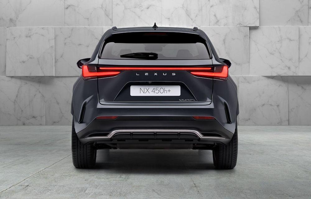 Noul Lexus NX: platformă nouă și versiune plug-in hibrid, o premieră pentru marca niponă - Poza 18