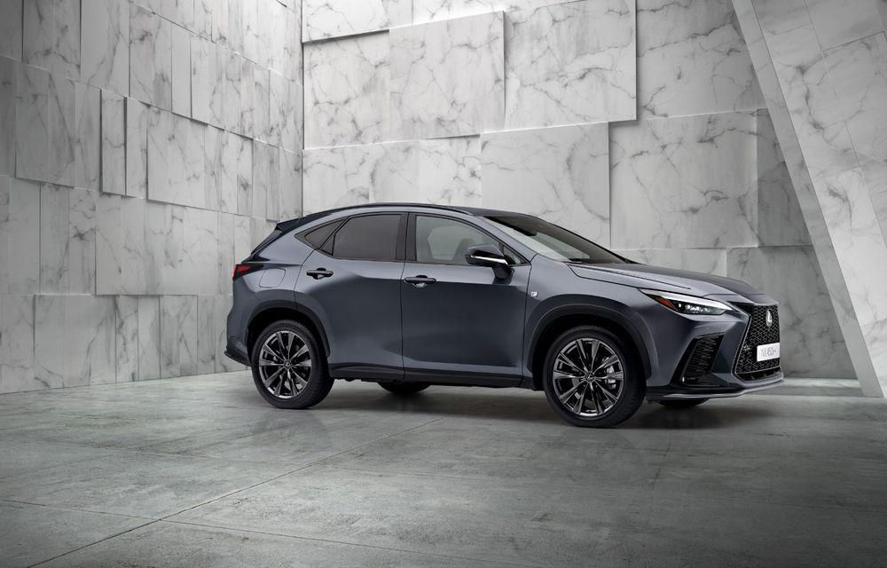Noul Lexus NX: platformă nouă și versiune plug-in hibrid, o premieră pentru marca niponă - Poza 10