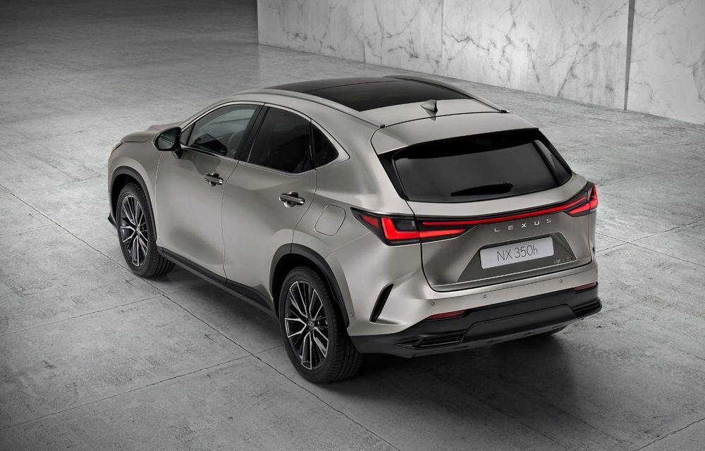 Noul Lexus NX: platformă nouă și versiune plug-in hibrid, o premieră pentru marca niponă - Poza 5