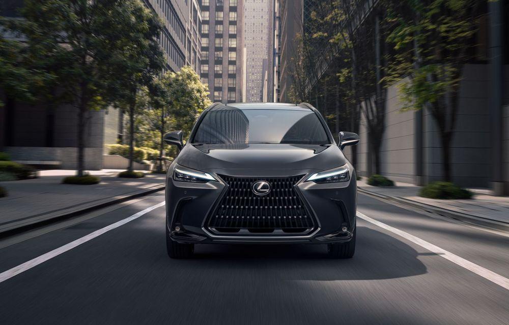 Noul Lexus NX: platformă nouă și versiune plug-in hibrid, o premieră pentru marca niponă - Poza 21
