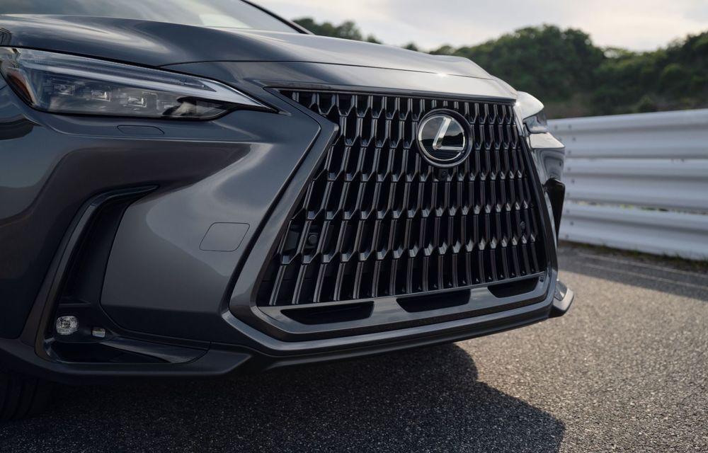 Noul Lexus NX: platformă nouă și versiune plug-in hibrid, o premieră pentru marca niponă - Poza 44
