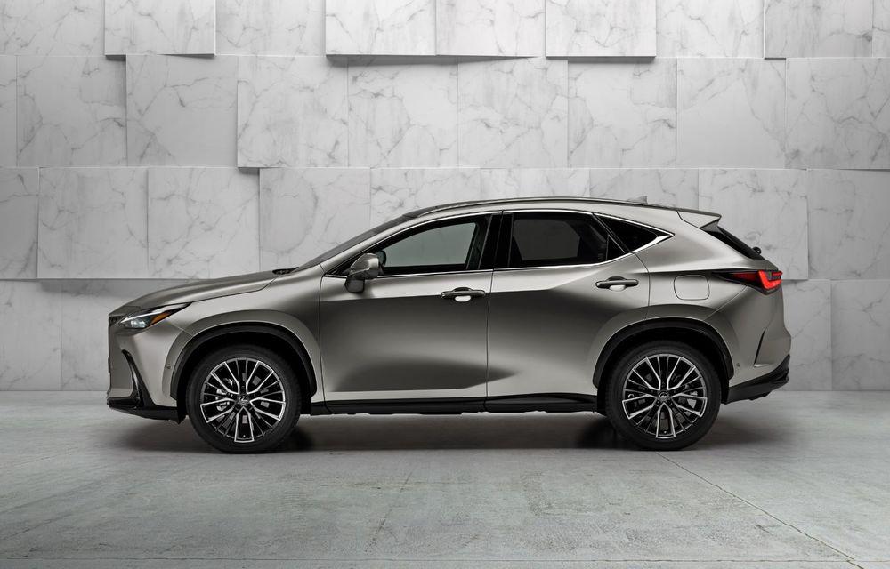 Noul Lexus NX: platformă nouă și versiune plug-in hibrid, o premieră pentru marca niponă - Poza 6