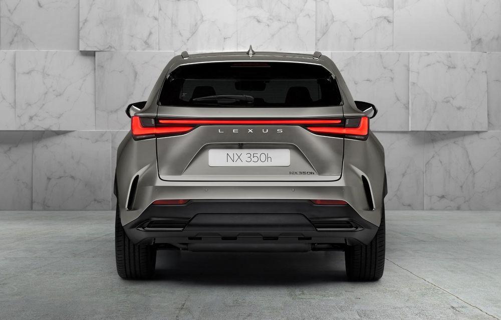 Noul Lexus NX: platformă nouă și versiune plug-in hibrid, o premieră pentru marca niponă - Poza 17
