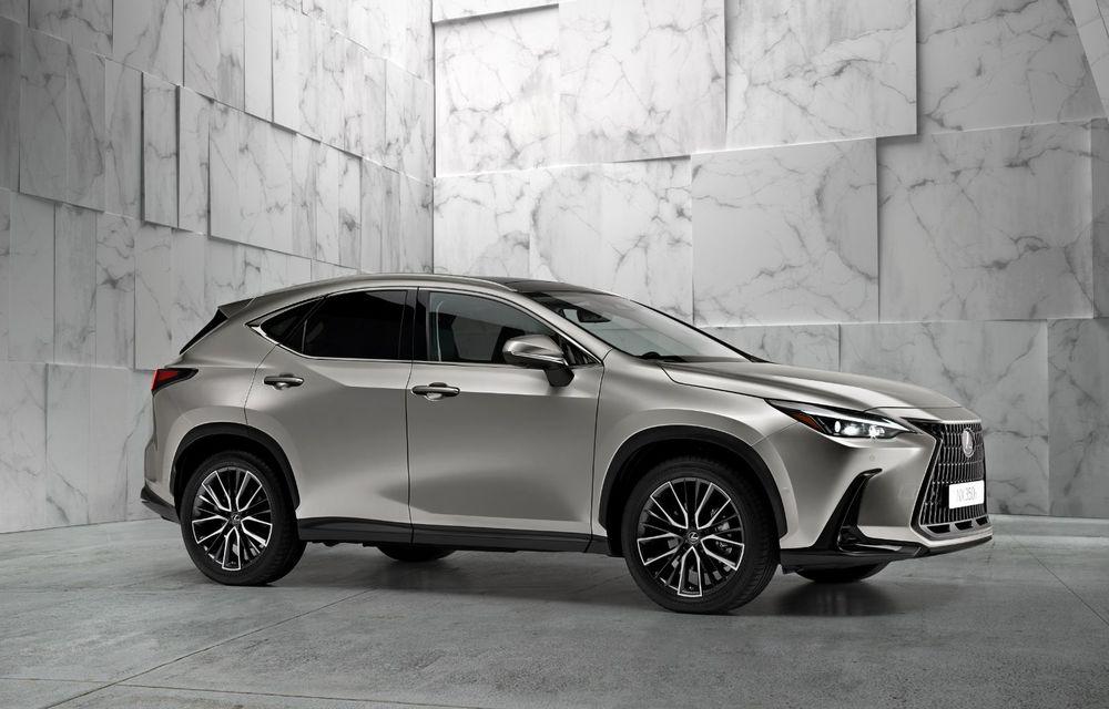 Noul Lexus NX: platformă nouă și versiune plug-in hibrid, o premieră pentru marca niponă - Poza 4