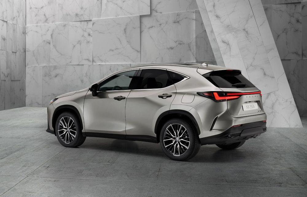 Noul Lexus NX: platformă nouă și versiune plug-in hibrid, o premieră pentru marca niponă - Poza 3