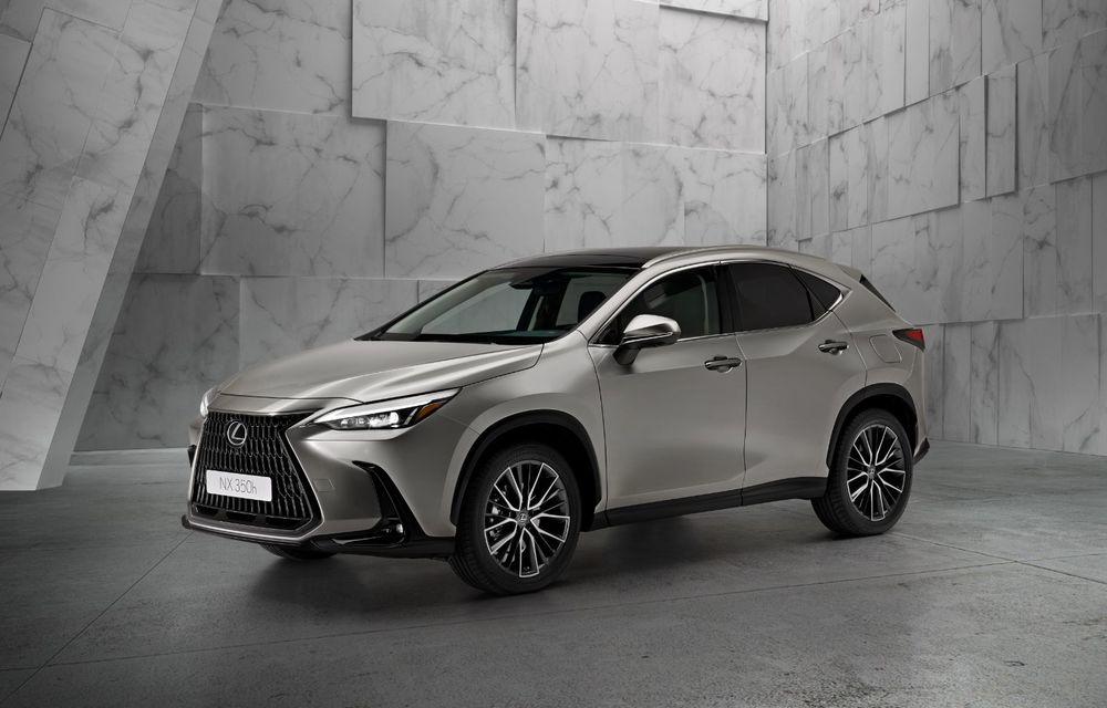 Noul Lexus NX: platformă nouă și versiune plug-in hibrid, o premieră pentru marca niponă - Poza 2