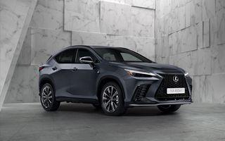 Noul Lexus NX: platformă nouă și versiune plug-in hibrid, o premieră pentru marca niponă