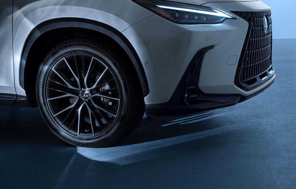 Noul Lexus NX: platformă nouă și versiune plug-in hibrid, o premieră pentru marca niponă - Poza 45