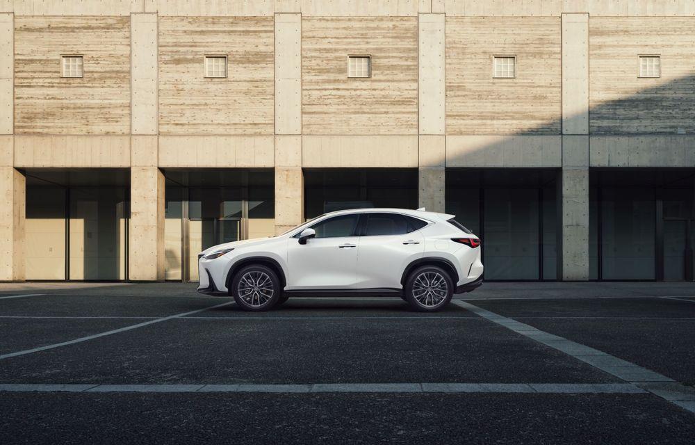 Noul Lexus NX: platformă nouă și versiune plug-in hibrid, o premieră pentru marca niponă - Poza 23