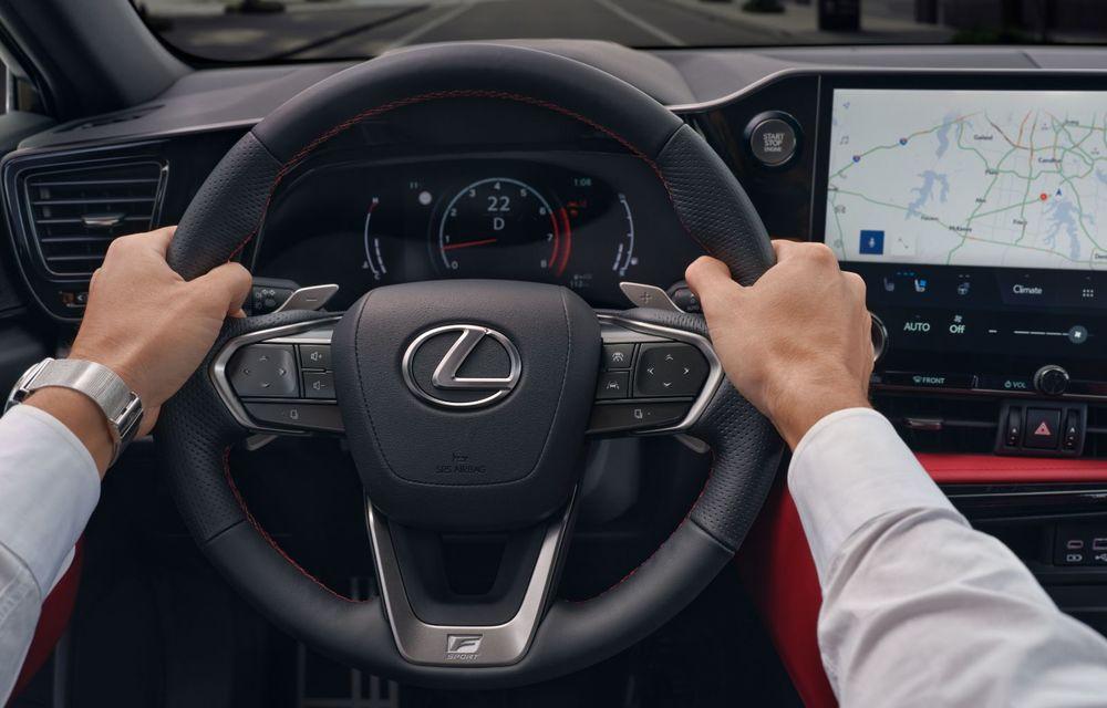 Noul Lexus NX: platformă nouă și versiune plug-in hibrid, o premieră pentru marca niponă - Poza 32