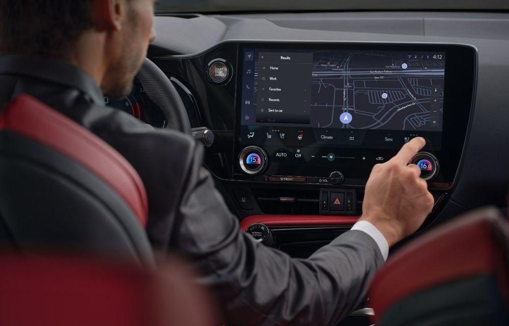 Noul Lexus NX: platformă nouă și versiune plug-in hibrid, o premieră pentru marca niponă - Poza 34
