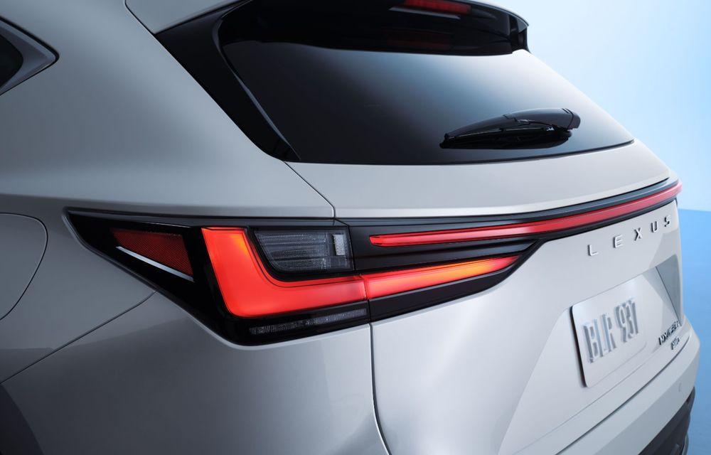 Noul Lexus NX: platformă nouă și versiune plug-in hibrid, o premieră pentru marca niponă - Poza 43