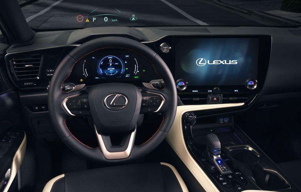 Noul Lexus NX: platformă nouă și versiune plug-in hibrid, o premieră pentru marca niponă - Poza 31