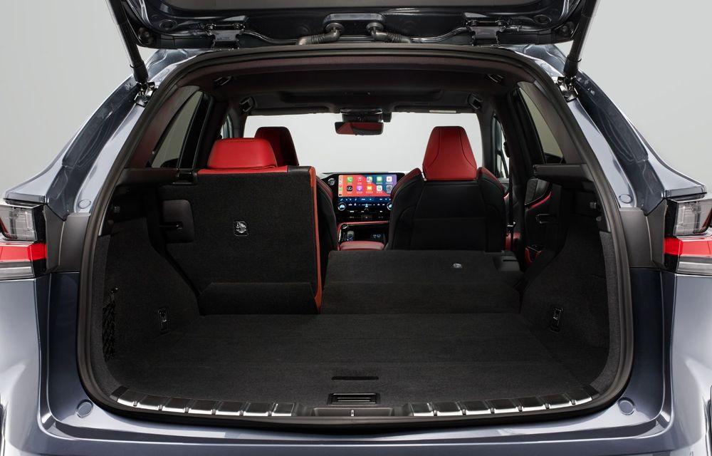 Noul Lexus NX: platformă nouă și versiune plug-in hibrid, o premieră pentru marca niponă - Poza 40