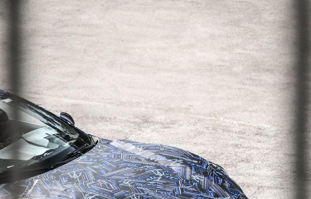 Maserati dezvăluie primele imagini sub camuflaj cu viitorul GranTurismo 100% electric - Poza 3