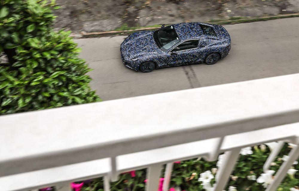 Maserati dezvăluie primele imagini sub camuflaj cu viitorul GranTurismo 100% electric - Poza 5