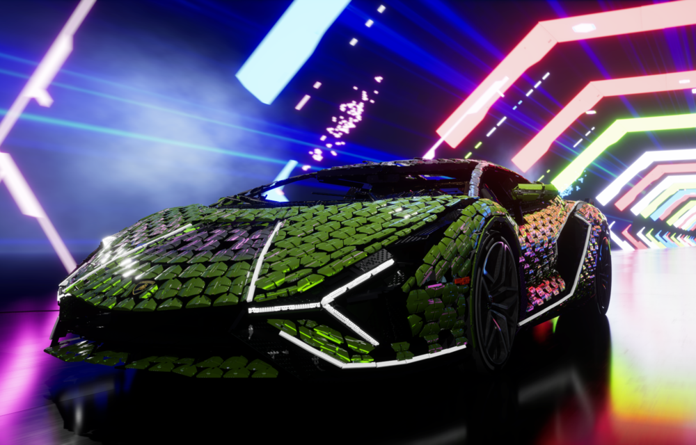 Cea mai nouă machetă Lego este acest Lamborghini Sian în mărime naturală - Poza 7