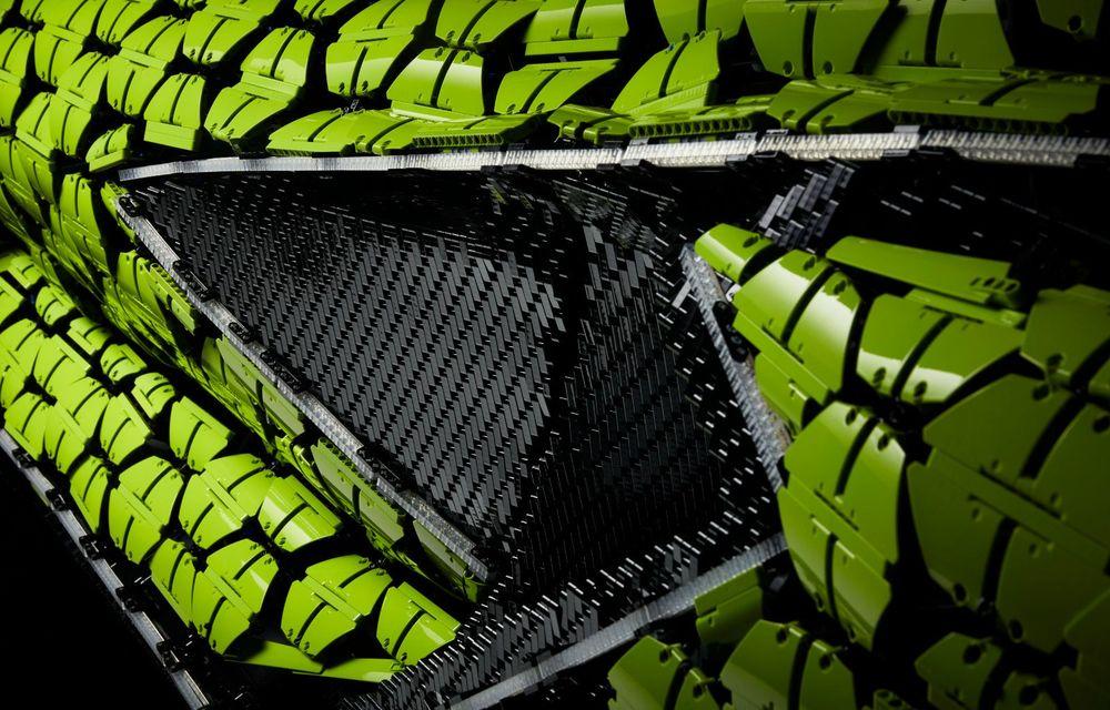 Cea mai nouă machetă Lego este acest Lamborghini Sian în mărime naturală - Poza 11