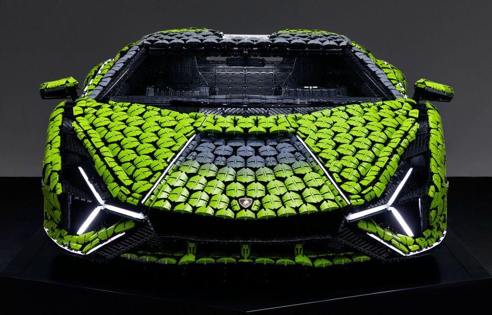 Cea mai nouă machetă Lego este acest Lamborghini Sian în mărime naturală - Poza 17