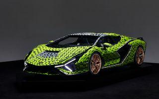 Cea mai nouă machetă Lego este acest Lamborghini Sian în mărime naturală