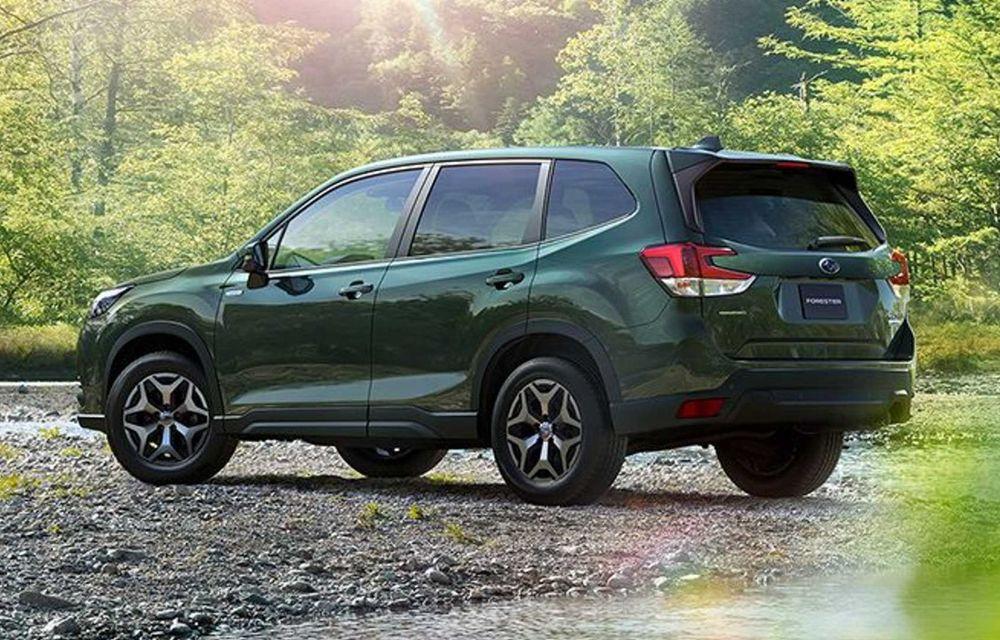 Subaru Forester facelift: noutăți exterioare și suspensii recalibrate pentru mai mult confort - Poza 4
