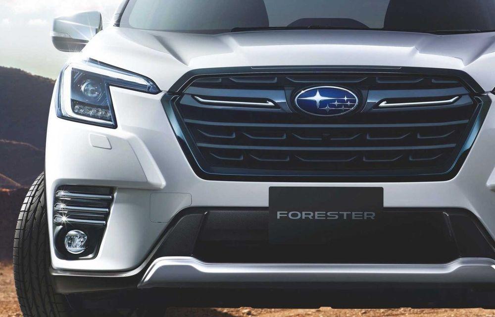 Subaru Forester facelift: noutăți exterioare și suspensii recalibrate pentru mai mult confort - Poza 11