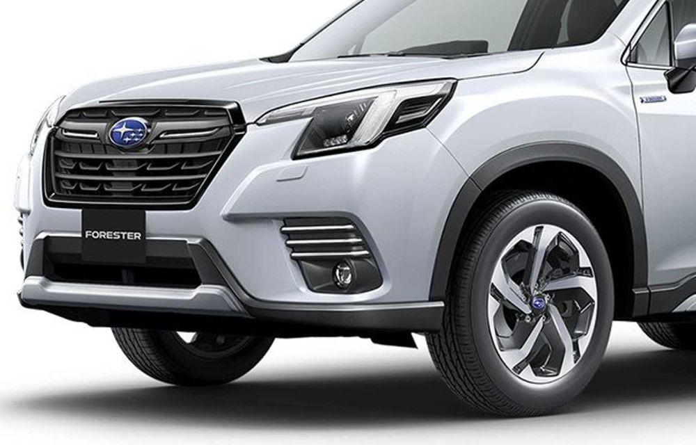 Subaru Forester facelift: noutăți exterioare și suspensii recalibrate pentru mai mult confort - Poza 12