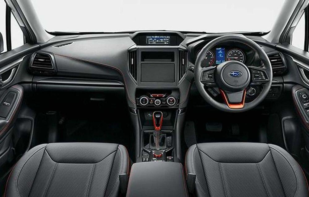 Subaru Forester facelift: noutăți exterioare și suspensii recalibrate pentru mai mult confort - Poza 6