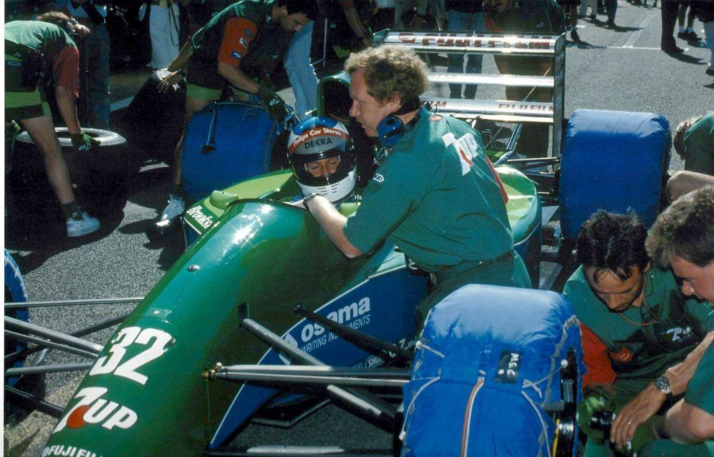 Primul monopost de Formula 1 pilotat de Michael Schumacher a fost scos la vânzare - Poza 2