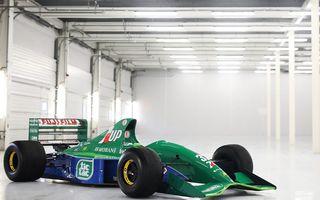 Primul monopost de Formula 1 pilotat de Michael Schumacher a fost scos la vânzare