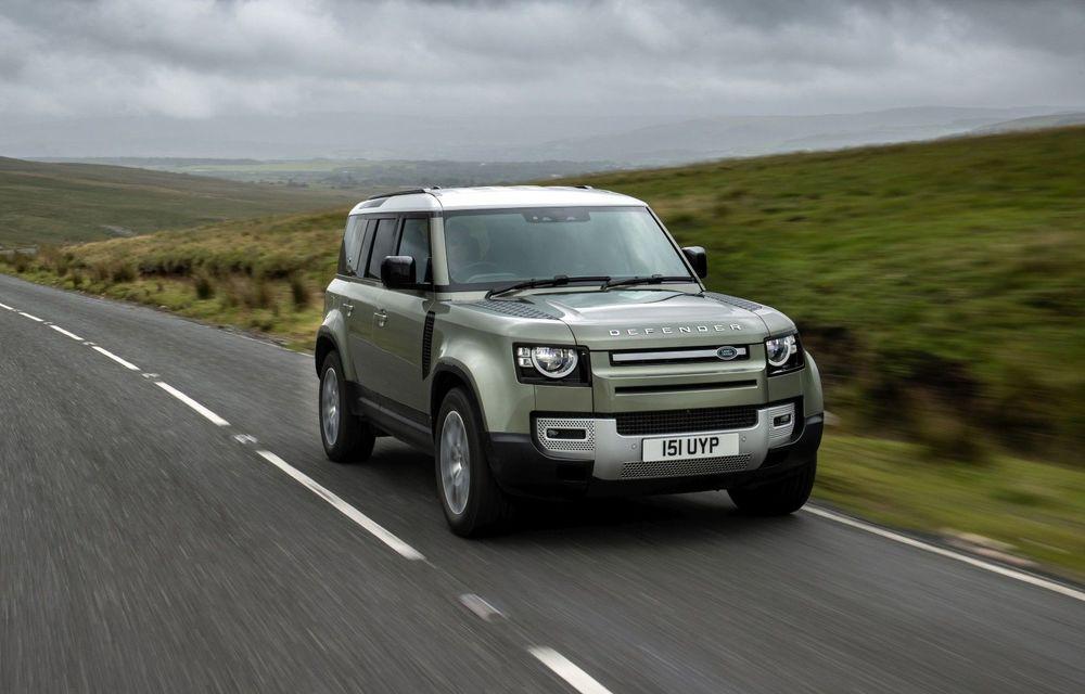 Jaguar Land Rover va începe testele cu un Defender alimentat cu hidrogen - Poza 1