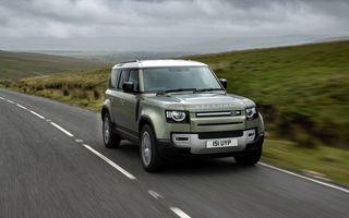 Jaguar Land Rover va începe testele cu un Defender alimentat cu hidrogen