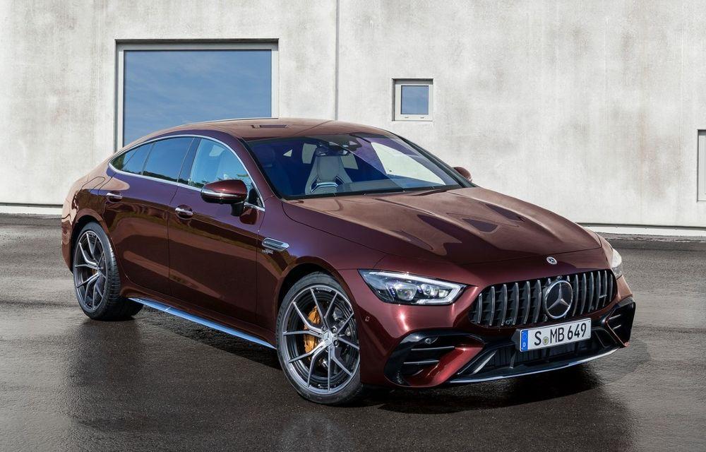 Mercedes-AMG GT 4-Door Coupe a primit o serie de îmbunătățiri - Poza 1